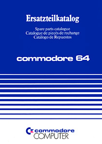 Commodore 64 Spare parts catalogue