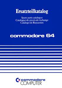 Commodore 64 Spare parts catalogue