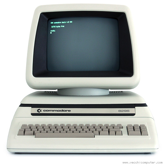 Commodore 8296 (fronte)