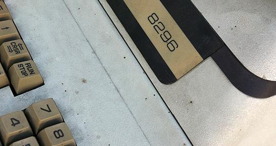 Commodore 8296 (sporco)
