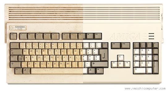 Commodore Amiga 1200 (prima e dopo)