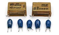 Sharp MZ-80FD - filtri e condensatori