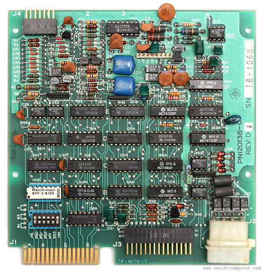 Sharp MZ-80FD - floppy pcb