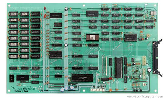 Sharp MZ-80K - scheda madre