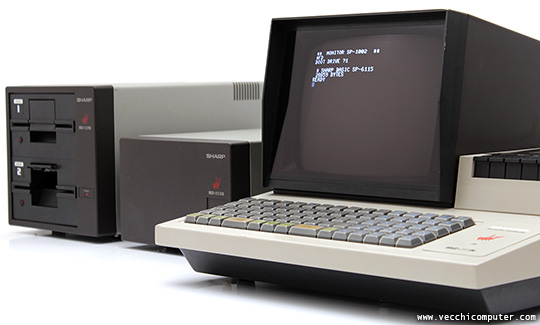 Sharp MZ-80K MK-80I/O MZ-80FD