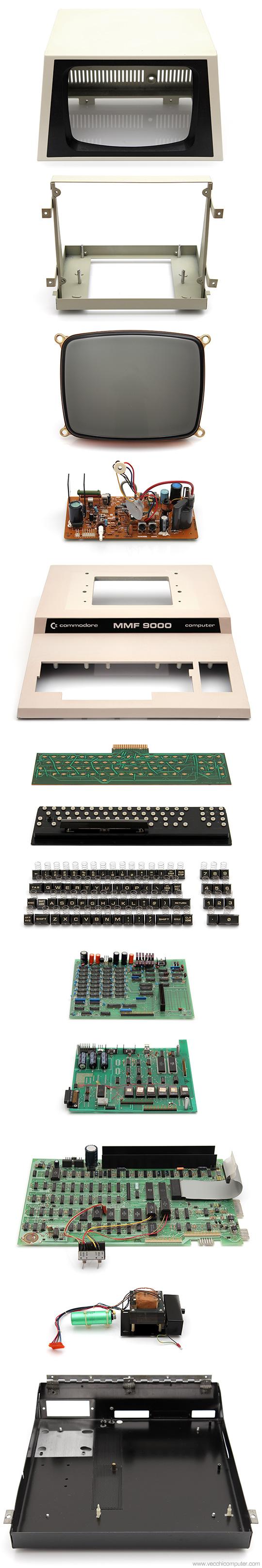 Commodore MMF 9000 - pezzi