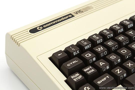 Commodore VIC 20 - dettaglio