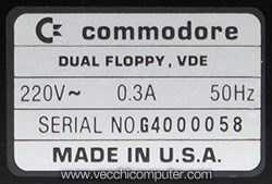 Commodore 4040 - SN