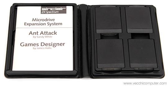 Sinclair ZX Microdrive - Confezione cartucce
