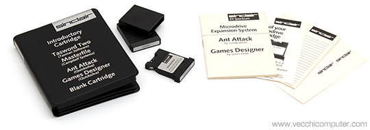 Sinclair ZX Microdrive - Cartucce