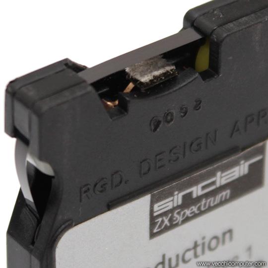Sinclair ZX Microdrive - Cartuccia (dettaglio)