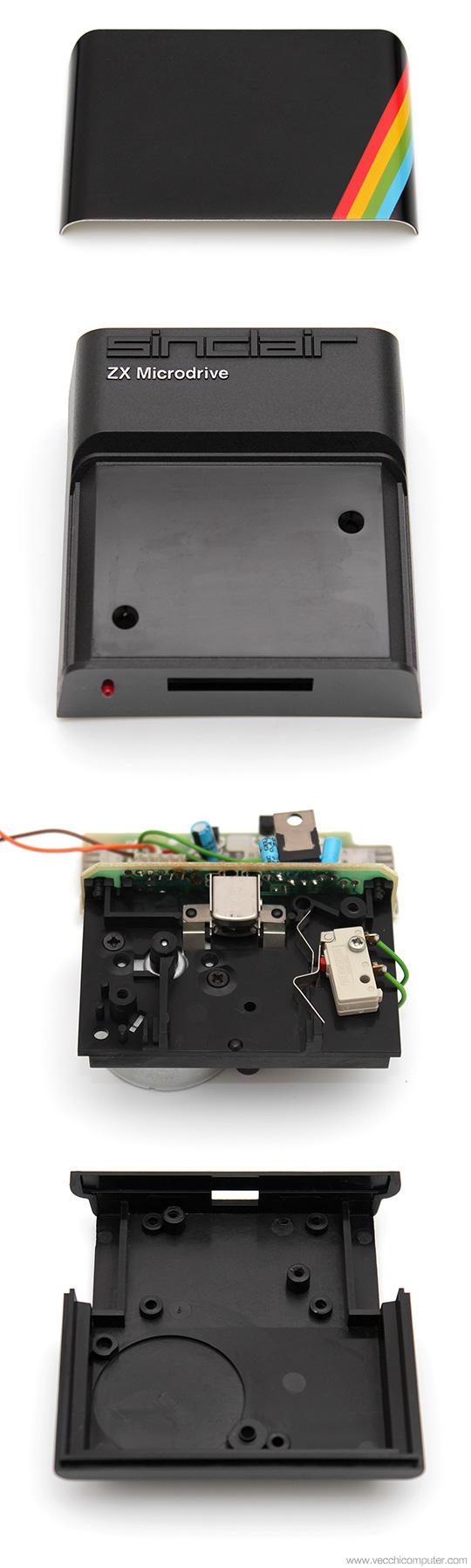 Sinclair ZX Microdrive - Esploso