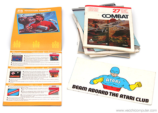 Atari 2600 - Manuali