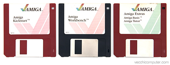 Commodore Amiga 1000 - Kickstart e Workbench 1.1