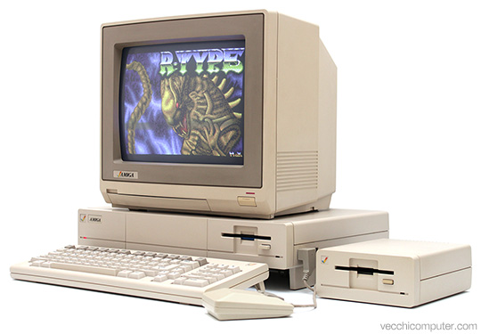Commodore Amiga 1000 - R-type