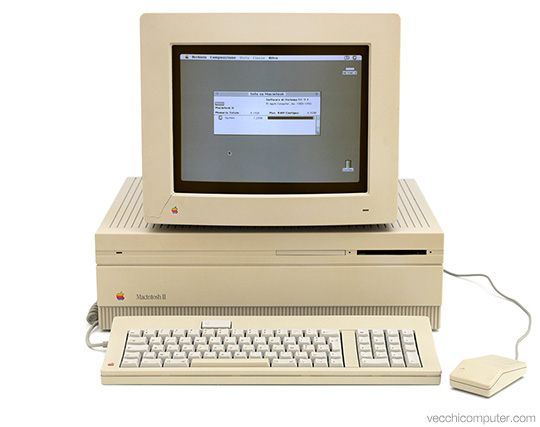 Apple Macintosh II - Sistema completo