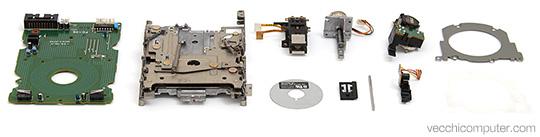 Componenti floppy drive