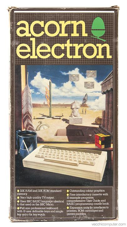 Acorn Electron - scatola