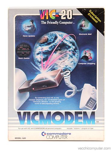 Commodore VICModem - scatola