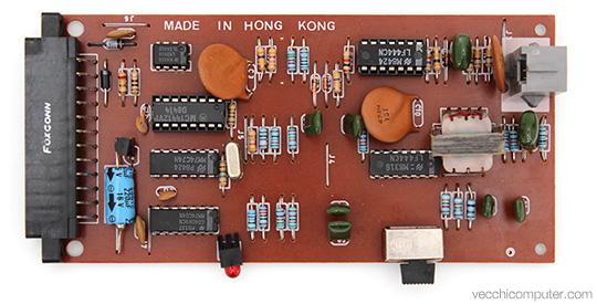 Commodore VICModem - scheda madre