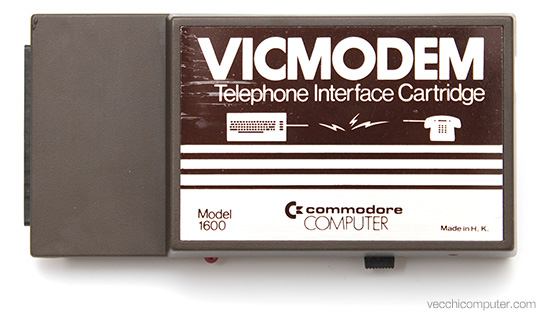 Commodore VICModem - sopra