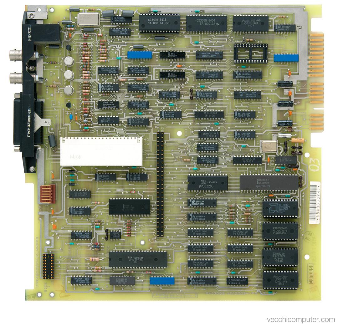 Digital VT100 - scheda madre