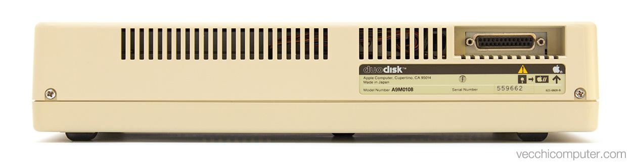 Apple DuoDisk - retro
