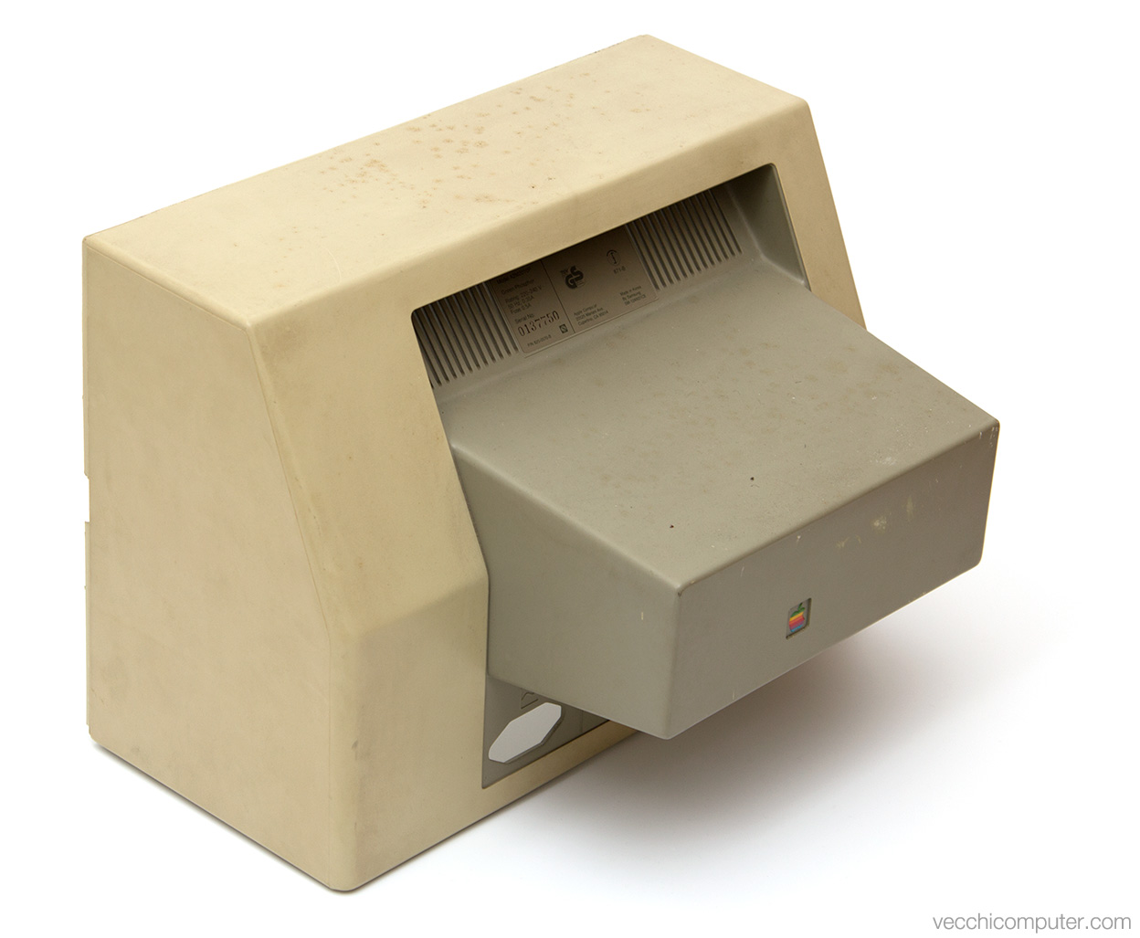 Apple monitor II - sporco