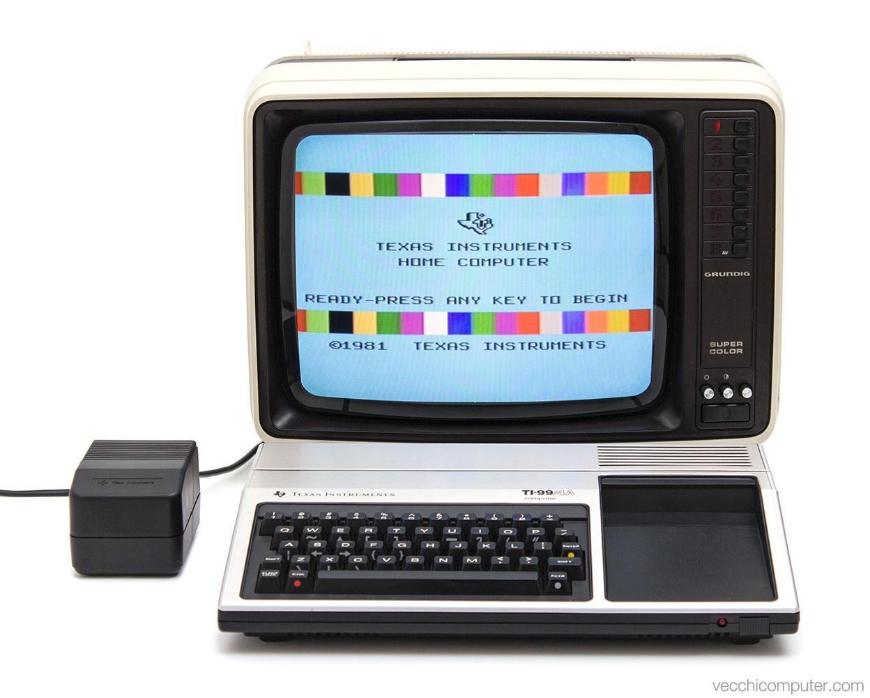 Texas Instruments TI-99/4a - alimentazione