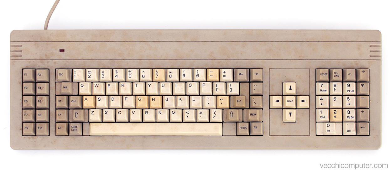 Staff C1 - tastiera sporca