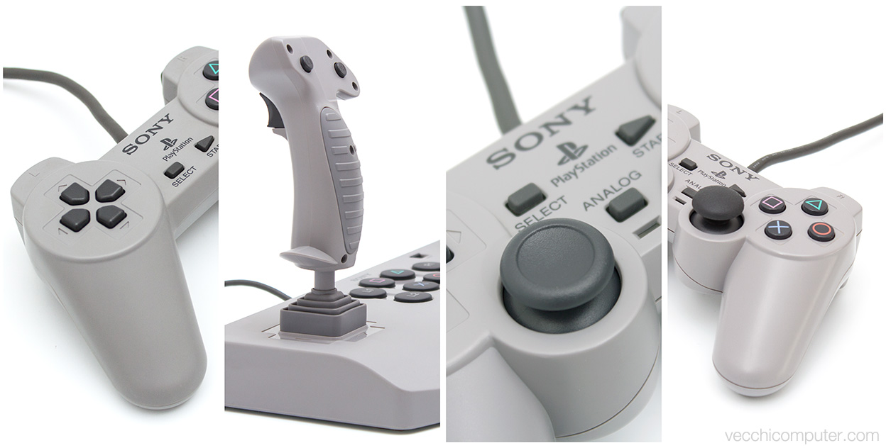 Sony PlayStation controllers