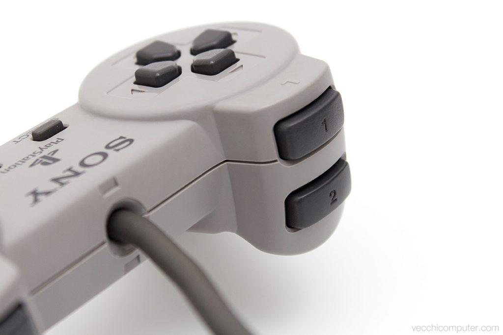 Sony PS1 controller originale - tasti dorsali
