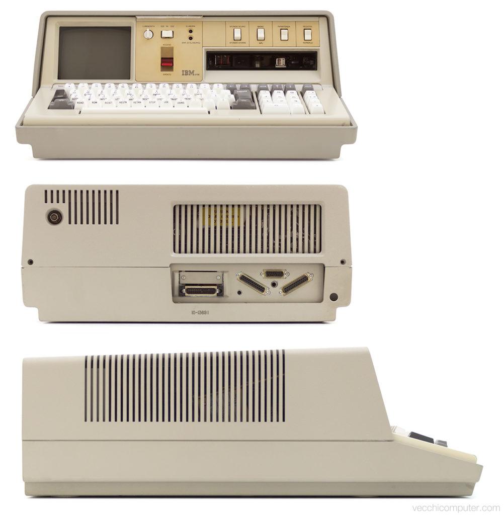 IBM 5100 - fronte, retro, lato