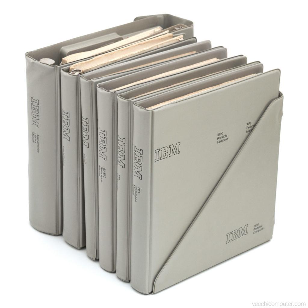 IBM 5100 - manuali