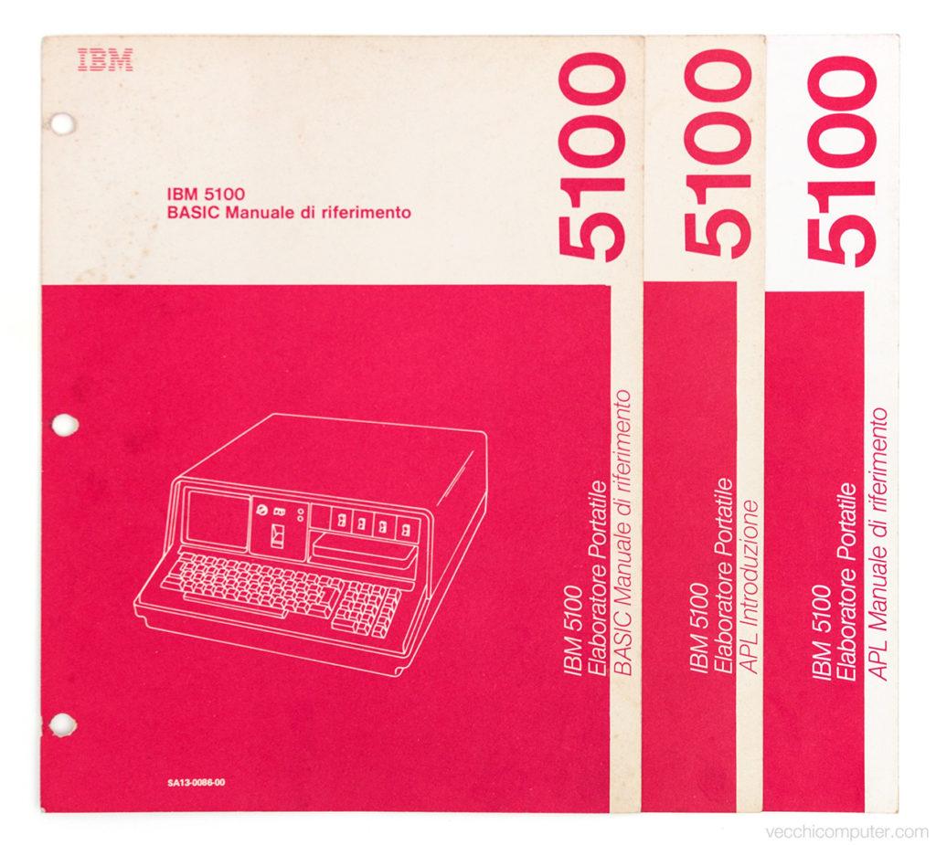 IBM 5100 - manuali in italiano