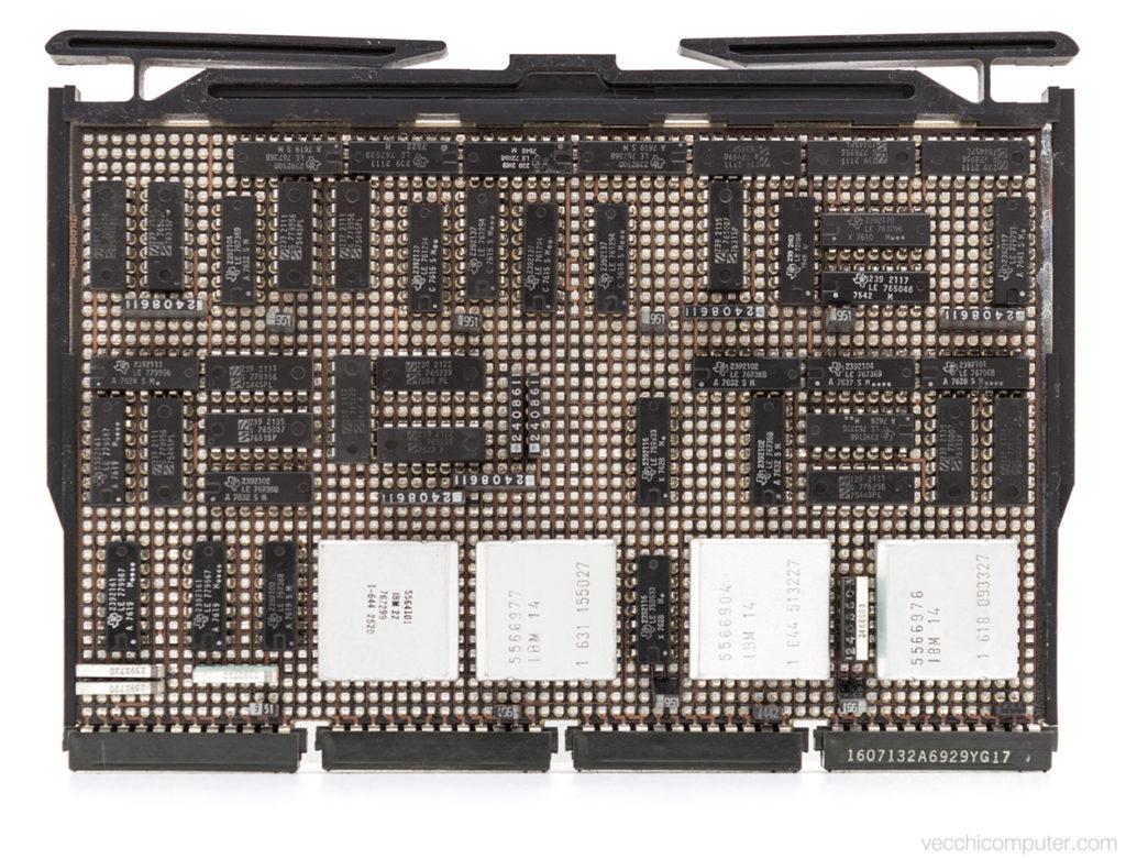 IBM 5100 - scheda E