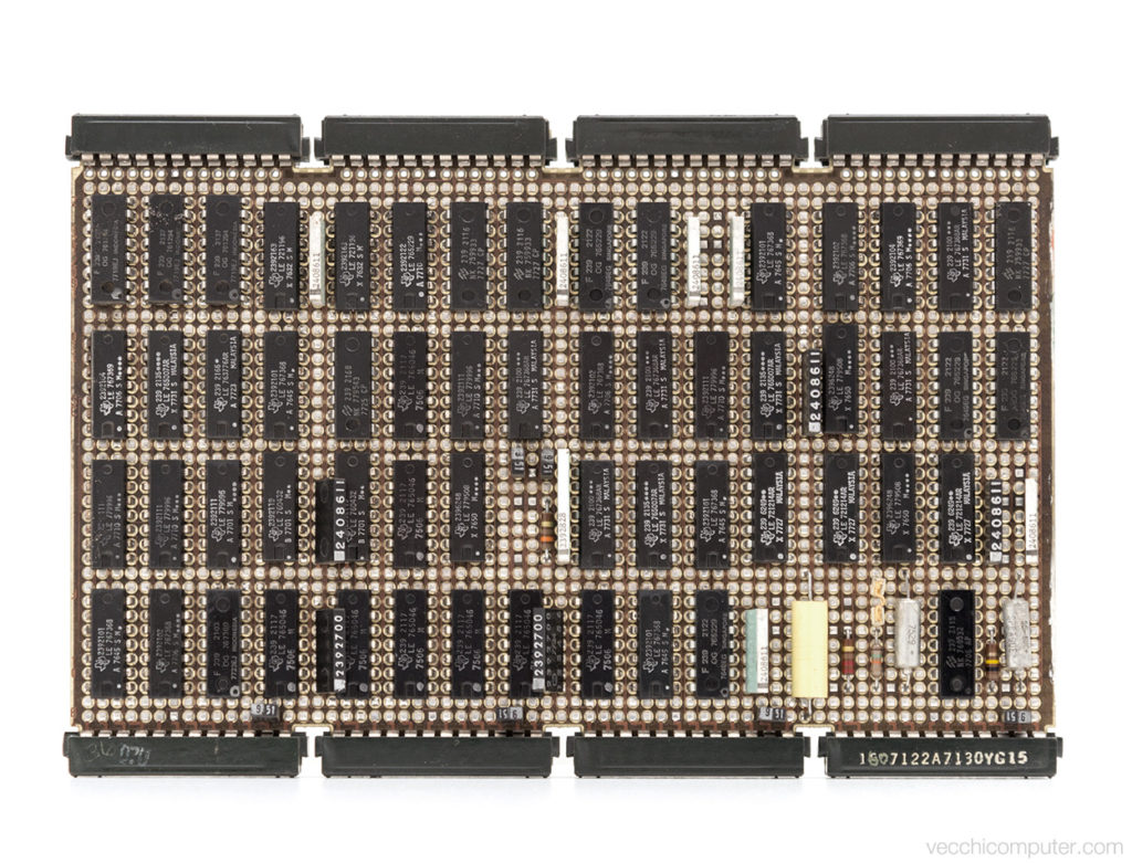 IBM 5100 - scheda F