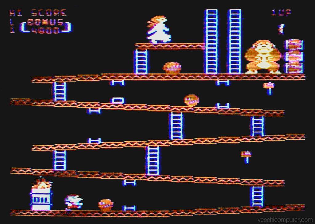 Atari 400 Donkey Kong