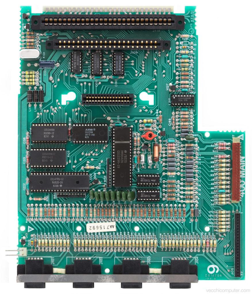 Atari 400 scheda madre