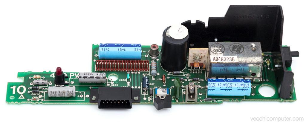 Atari 400 scheda PWR