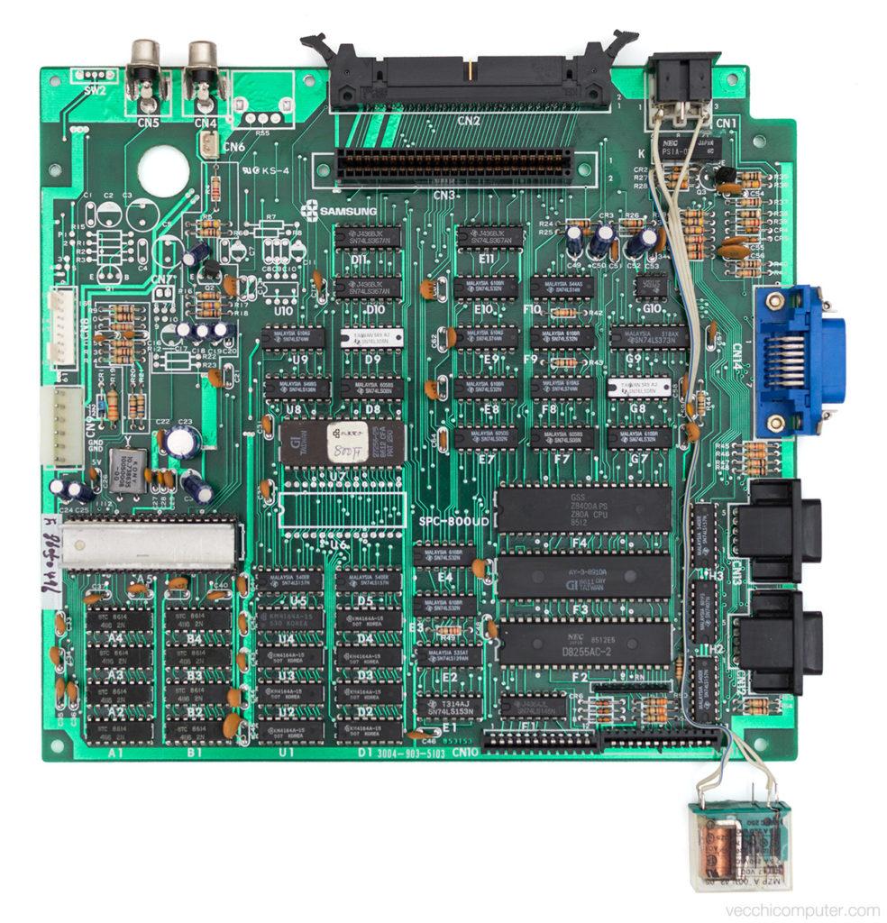 Fenner SPC-800 - scheda madre