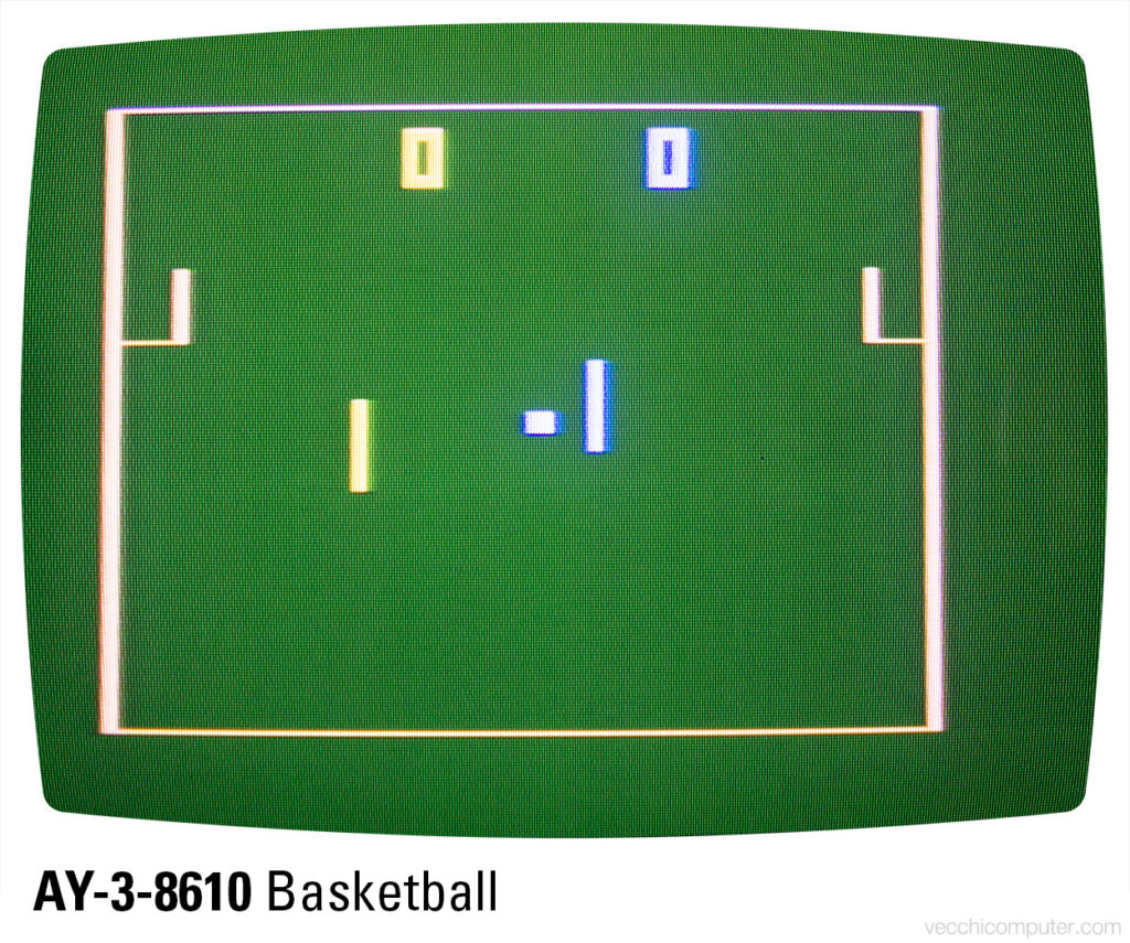 Sportron - AY-3-8610 basketball (A3)
